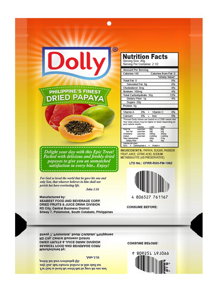 Dried Papaya - 100g